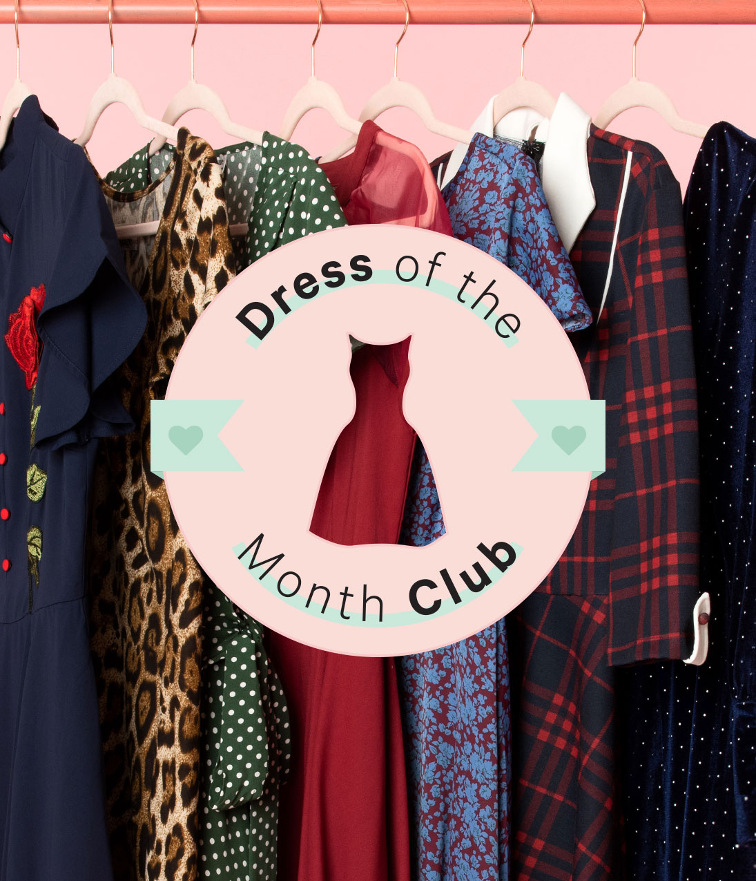 Dress Of The Month Club 3 Month Membership